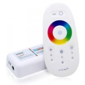 Kontroler led RGBW RF 24A 288W 12V dotykový bílý 2,4ghz Wireless .